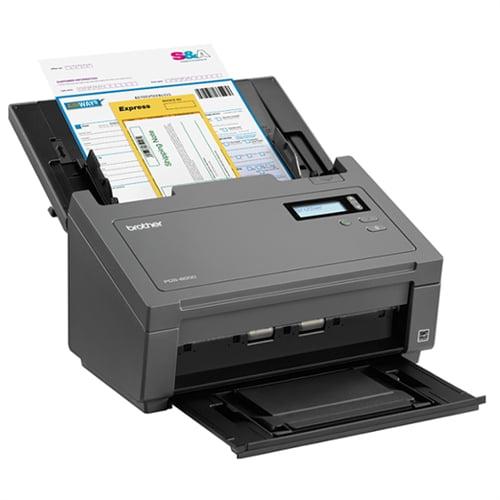Brother - Document Scanner - Duplex - 8.58 in x 236 in - 600 dpi