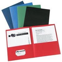Avery Two-Pocket Folders, 40-Sheet Capacity, 25 Assorted Folders (47993)