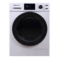 Magic Chef 2.7 cu ft Washer Dryer Combo, White