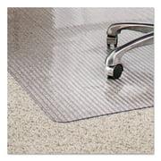 ES Robbins Linear Rectnglr 36 x 48 Chair Mat for Medium Pile Carpet, Rectangular