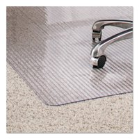 ES Robbins Linear Rectnglr 36 x 48 Chair Mat for Medium Pile Carpet, Rectangular