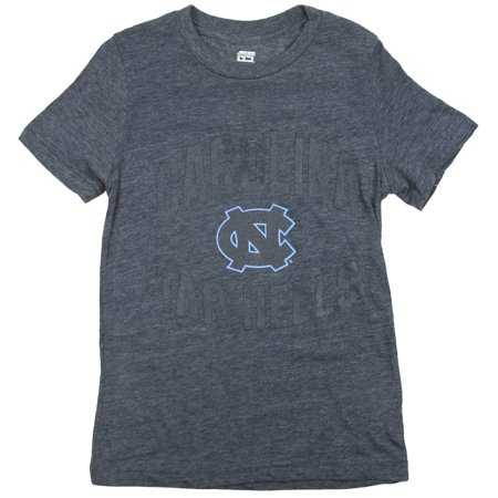 Ncaa College Large Game (NCAA College Youth Boys Carolina Tarheels T-Shirt - Bluish Gray )