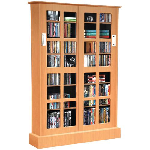 ATLANTIC 94835722 Windowpane Sliding-Glass Door Media Cabinet by Atlantic%2C Inc.