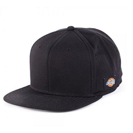 124e1827120 MyPartyShirt - Dickies Core Black Snapback Cap Baseball Adult Cap Accessory  Adult Mens Hat - Walmart.com