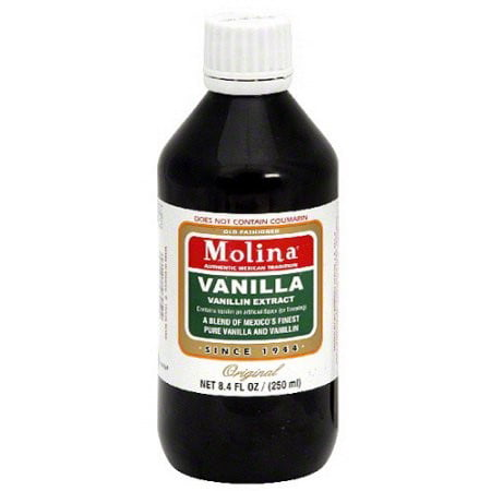 (5 Pack) Molina Vanilla Extract, 8.3 fl oz