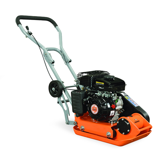 YARDMAX YC1160 2,500 lb. Compaction Force Plate Compactor 6.5HP/196cc Recoil