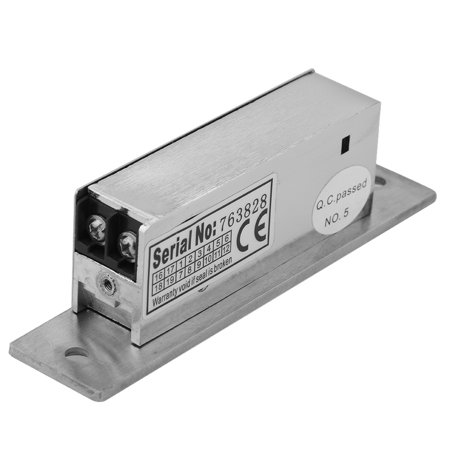WALFRONT Adjustable Narrow-Type Electric Strike Door Lock Double Unlock Mode Access Control Lock Electric Strike Lock (Narrow Double Doors)