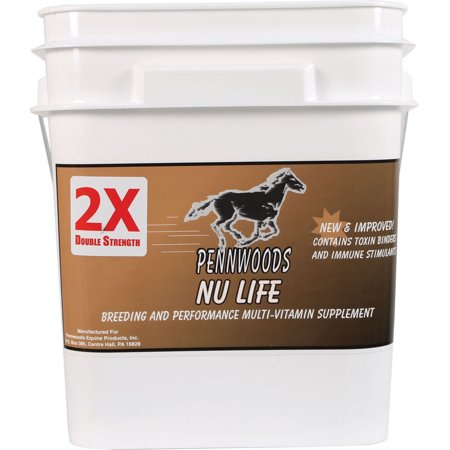 Pennwoods Equine Products-Nu Life 2x Breeding And Vitamin Horse Supplement 25 Pound (Horse Breeds)