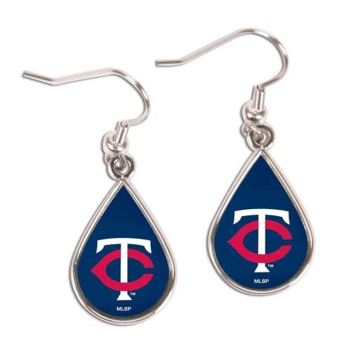 Minnesota Twins WinCraft Tear Drop Dangle Earrings - No Size