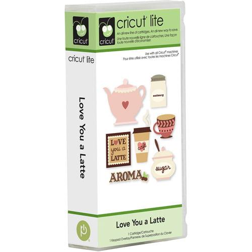 Cricut Lite Love You a Latte Cartridge