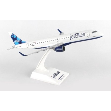 Skymarks Jetblue Embraer E190 1 100 Scale With Stand Reg N318jb