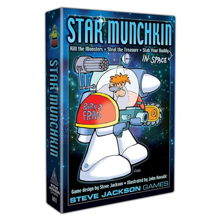 Star Munchkin Revised Edition, It's Munchkin in space! Same rules (with a couple of twists) -- but different monsters and characters! By Steve Jackson Games - Different Minion Characters