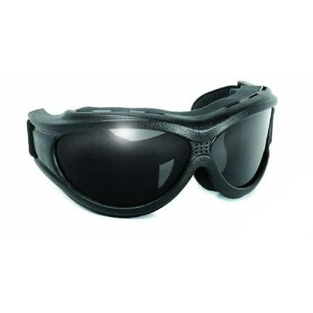 big ben motorcycle goggles smoke lense fit over (Motorcycle Goggles That Fit Over Prescription Glasses)