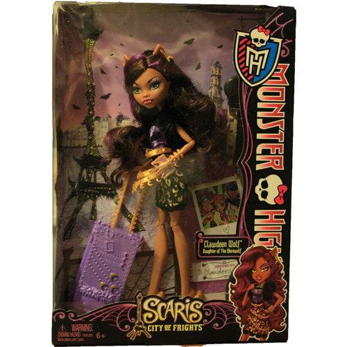 Monster High Scaris Clawdeen Wolf Doll by Mattel