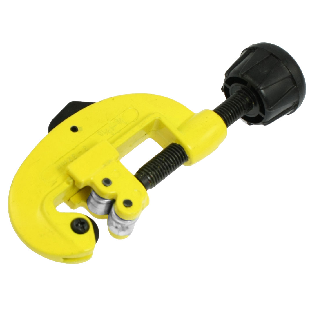 "1 8""-1 5 16"" Cutting Swivel Knob Tubing Pipe Cutter Hand Tool Yellow 5.5"" by Unique-Bargains"