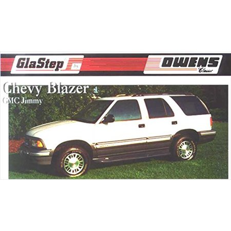 - Owens Products 2076 OWE2076 95-04 BLAZER/JIMMY S/10-S/15 (4 DOOR) W/O CLADDING GLASTEP CUSTOM MOLDED FIBERGLASS RUNNING BOARDS