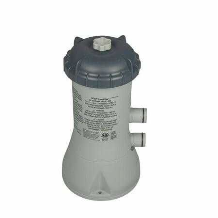 Intex 1000 GPH Easy Set Above Ground Swimming Pool Cartridge Filter Pump (Pump Sets Case)