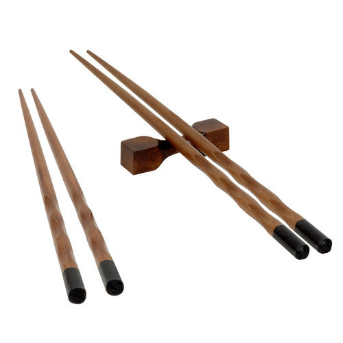 EKCO 2-Pair Reusable Chopstick with Rests Set