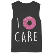 Chin Up Juniors' I Donut Care Muscle Tee