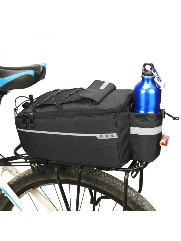 Bicycle Handlebar Basket Bag Bike Reflective Front Pannier Tube Waterproof Hot !