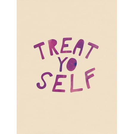 Treat Yo Self Print Wall Art ()