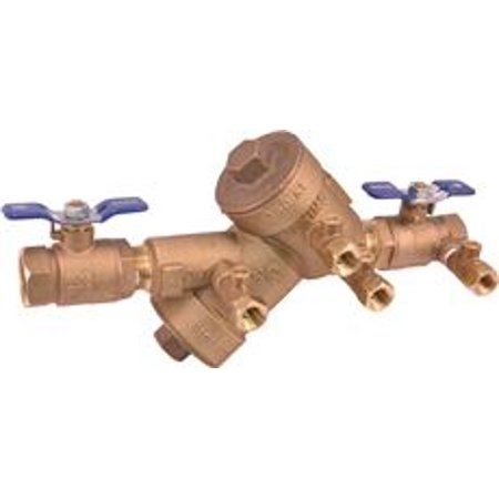 Wilkins Double Check Valve Backflow Preventer 3/4 In., Lead Free ()