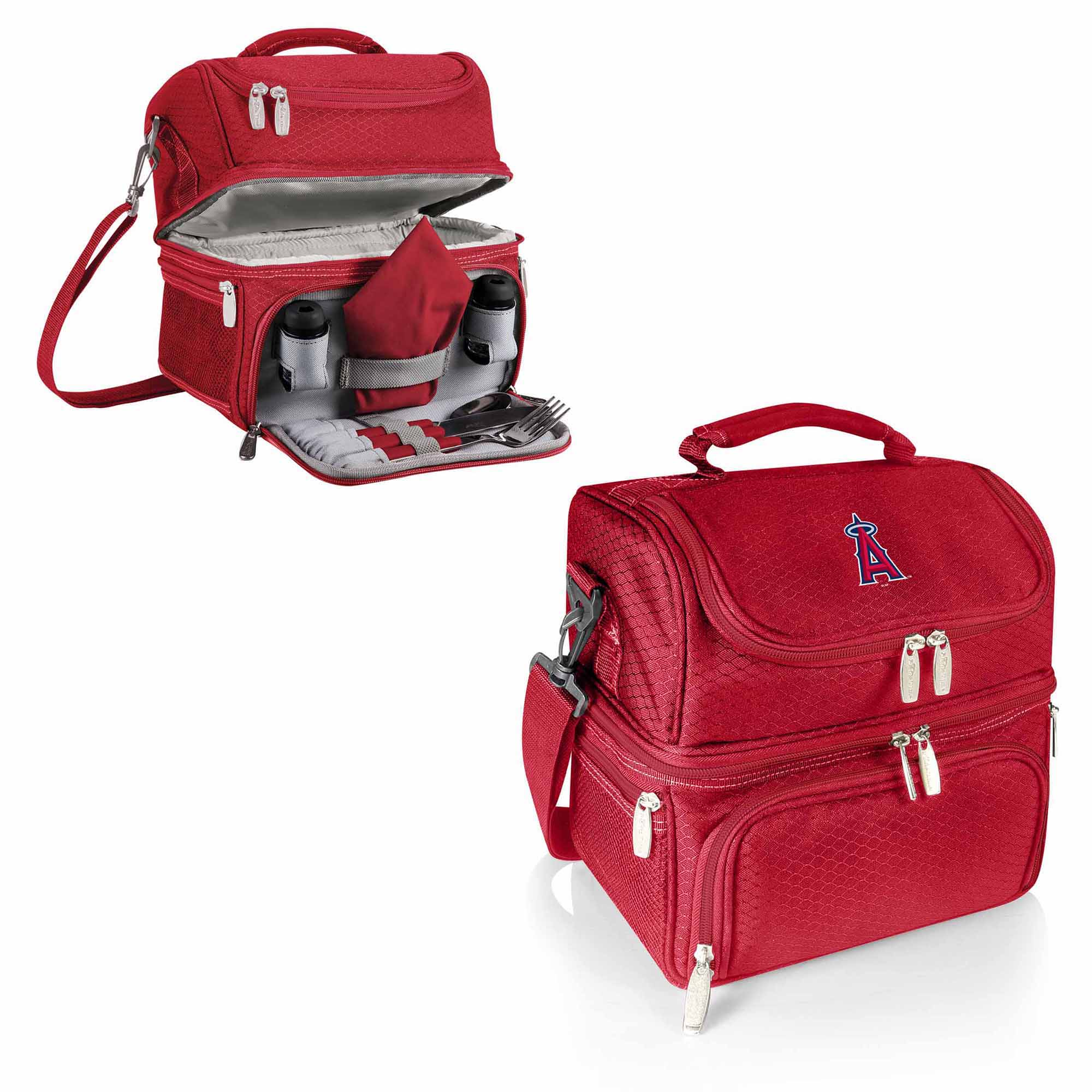 Los Angeles Angels Pranzo Lunch Tote - Red - No Size