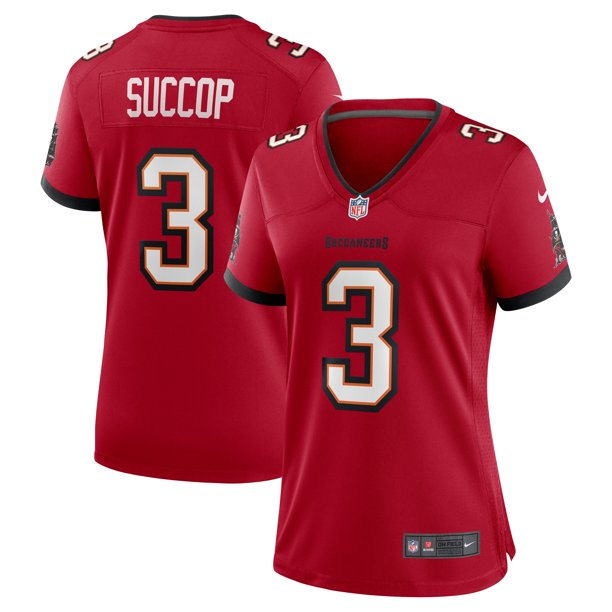 Ryan Succop Tampa Bay Buccaneers Nike Women's Team Game Jersey - Red