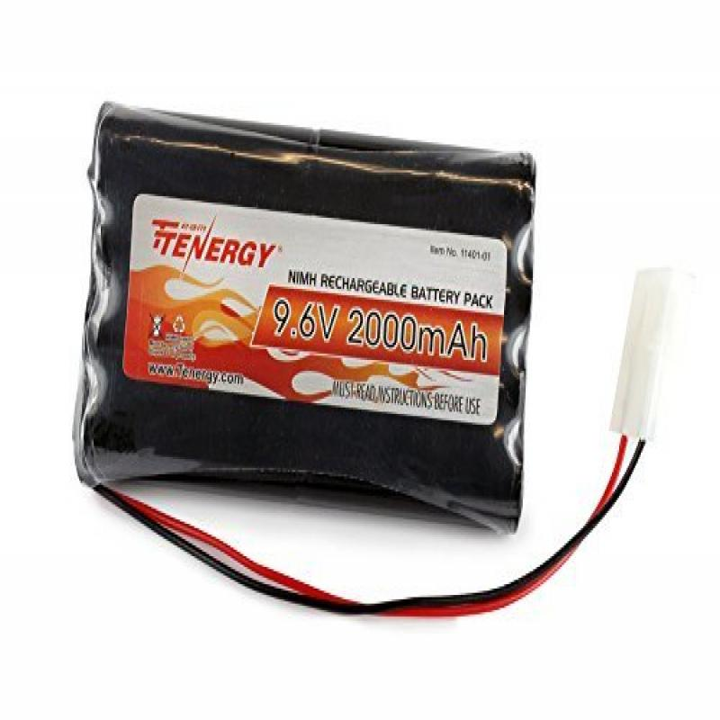 Tenergy 9.6V 2000mAh NiMH High Capacity Battery Pack for ...