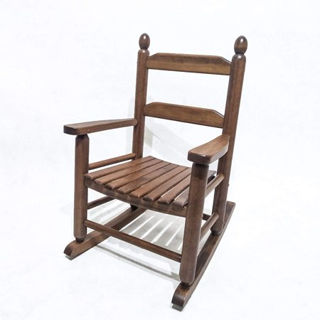 Orno Ttobe Solid Hardwood Kids Rocking Chair For Age 3 7