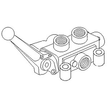 SCV1 New Single Spool Convertible Valve (double or single
