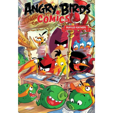 Angry Birds Comics Volume 5: Ruffled Feathers - Angry Birds Halloween Comic Book