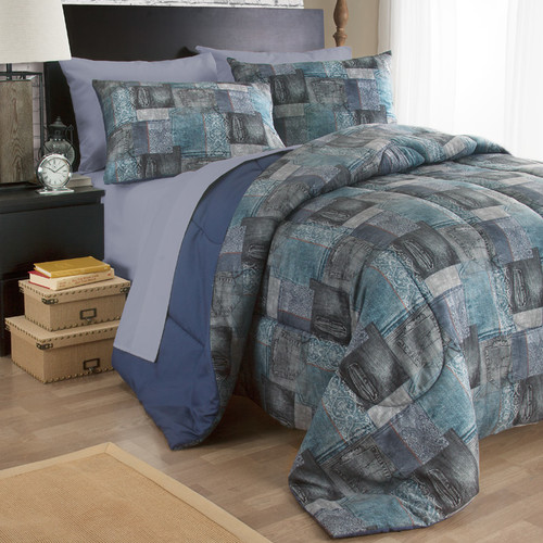 Josh & Posh Kidz Uber Denim 3 Piece Comforter Set