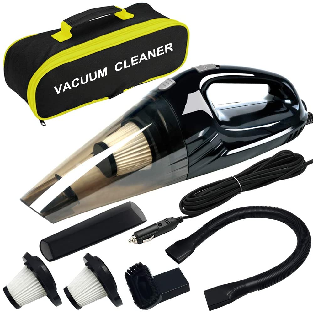 Car Vacuum Cleaner Wet Dry Portable Handheld Auto Vacuum Cleaner with Power Cord