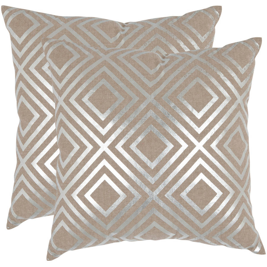 Safavieh Chloe Geometric Pillow, Set of 2