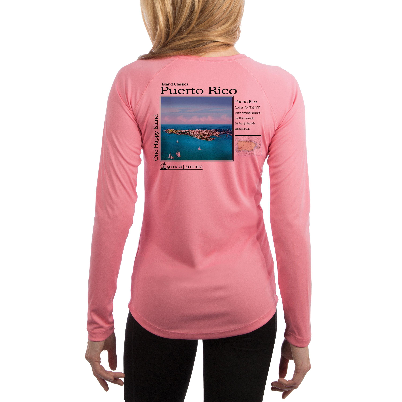 Little Girls Puerto Rico Strong ComfortSoft Long Sleeve Shirt