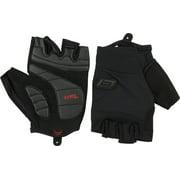 Bellwether Pursuit Mens Short Finger Glove: Black 2XL