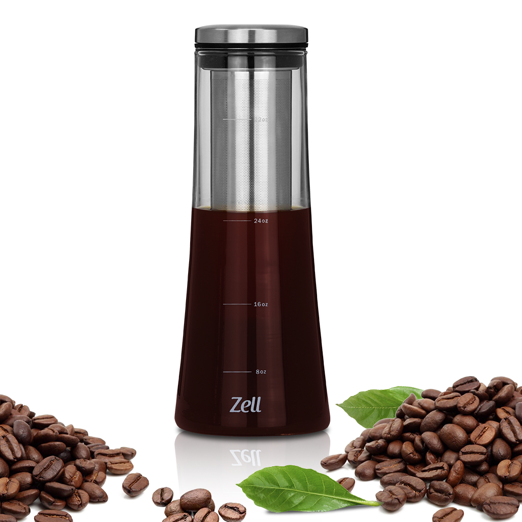 Zell Cold Brew Coffee Maker | Best Home Iced Coffee & Tea ...