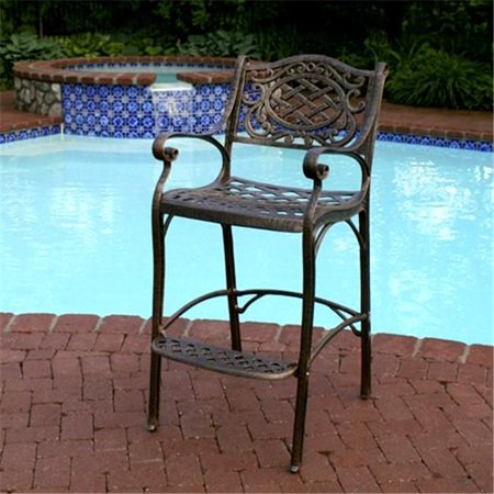 Oakland Living 2110-AB - Mississippi Bar Stool - Antique Bronze