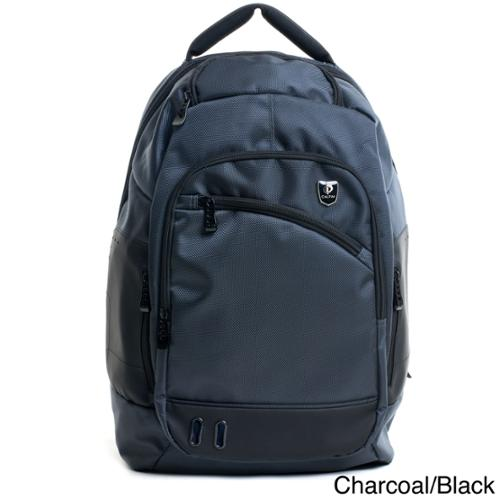 CalPak Jerzy Multi-functional 15-inch Laptop Backpack Charcoal/Black
