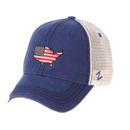 Zephyr Hat Cap 4th of July United States Flag USA America Patriot USAWDM0010 - Fourth Of July Hat