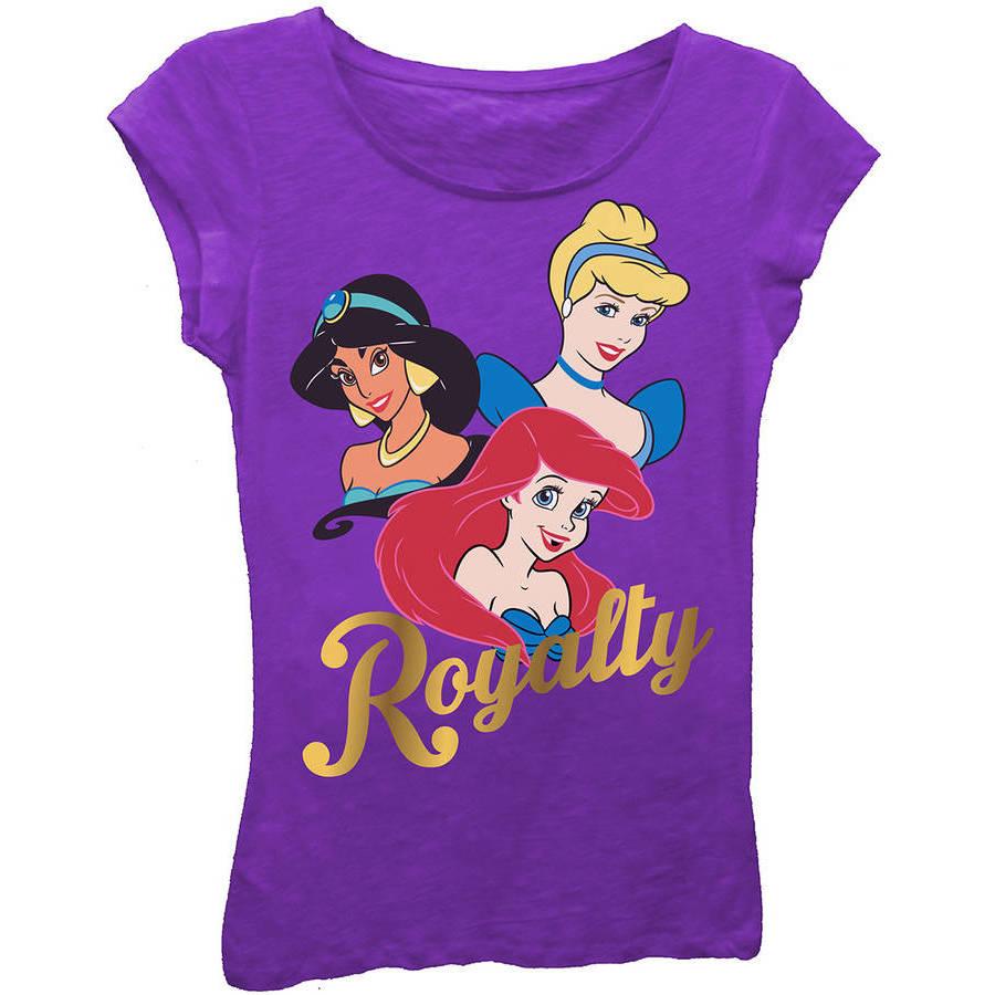 "Disney Princess ""Royalty"" Girls' Princess Graphic T-Shirt"