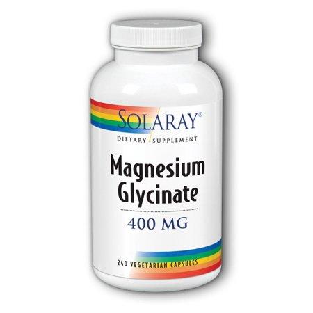 Magnesium Glycinate 400 mg Solaray 240 VCaps