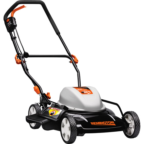"""Remington 19"""" Side Discharge/Mulch Electric Push Mower"""