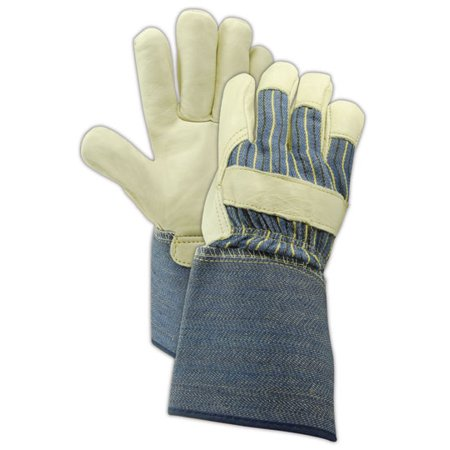 Magid DuraMaster Select Cow Grain Leather Gloves Medium, 12 Pairs