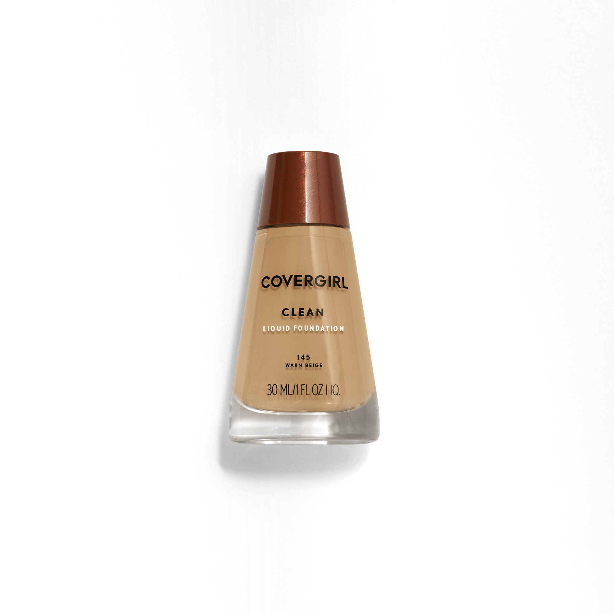 COVERGIRL Clean Liquid Foundation, 145 Warm Beige