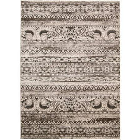 Nourison Karma Machine-Made Textured Tribal Rug