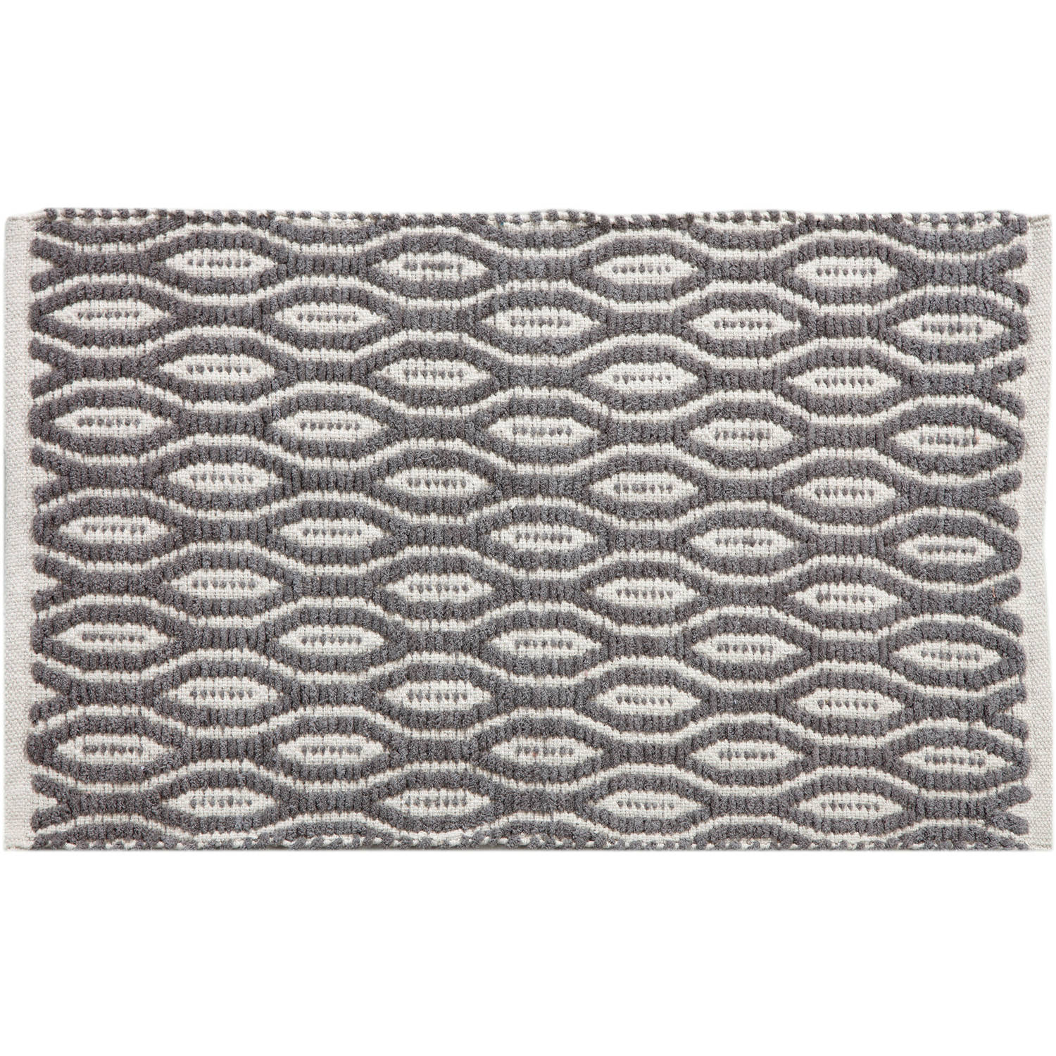 "Better Homes and Gardens 1' 8"" x 2' 10"" Interlocking Geos Accent Rug by"