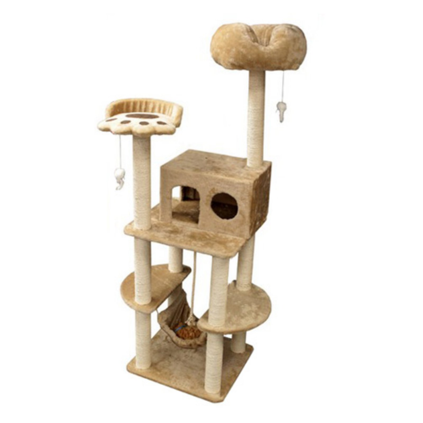 Majestic Pet 76 in. Casita Fur Cat Tree