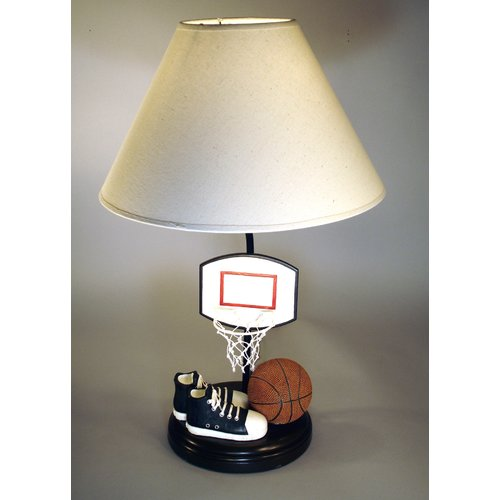 Judith Edwards Designs Basketball Net 20'' Table Lamp